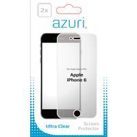 Azuri screen protector: AZDUOSPAPPIPH6 schermbeschermer - Transparant