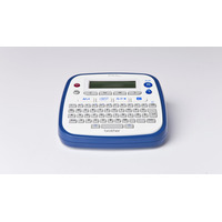 Brother labelprinter: P-touch D200WNVP - Blauw, Wit, QWERTY