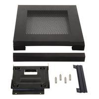 Chieftec MK-35DV, Optional accessory set for Mini-ITX Case IX-01B, Metal/Plastic Computerkast onderdeel - Zwart