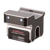 R-Go tools input device: evoMouse - Zwart, Metallic