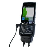 Carcomm CMPC-85, f/BlackBerry Torch 9800, black houder - Zwart