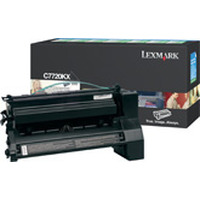 Lexmark toner: C772, X772e 15K zwarte retourprogr. printcartr.