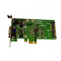Brainboxes interfaceadapter: 1 x RS232, 9 Pin (M), PCI Express - Groen