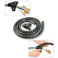 Lindy kabelbinder: Spiral Cable Tidy, 2m - Zwart