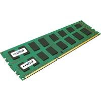 Crucial RAM-geheugen: 16 Gb (2x8 Gb), DDR3-1600, 1.5 V, 240-pin, ECC, Registered, Rank 2