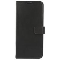 Valenta Leather Booktype Samsung Galaxy S21 Ultra - Zwart - Zwart / Black Mobile phone case