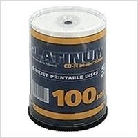 Bestmedia CD: Platinum printable CD-R 700 MB 100er CakeBox