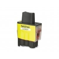 Brother inktcartridge: LC900Y Yellow Ink Cartridge - Geel