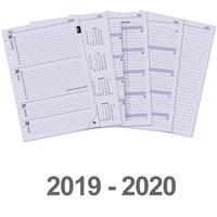 Kalpa Kalendarium A5 organiser-vulling week-agenda 2019 en 2020 schrijfblok