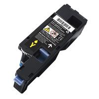 DELL cartridge: Geel tonercartridge met hoge capaciteit voor de Kleur printer C17XX, 1250/135X (1400 pagina's)