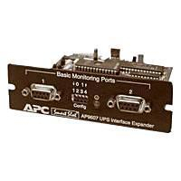 APC interfaceadapter: Interface Expander with 2 UPS Communication Cables SmartSlot Card