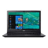 Acer laptop: Aspire A315-41-R9SJ - Zwart, QWERTY