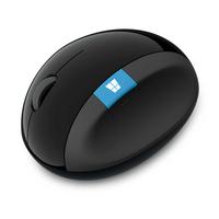 Microsoft computermuis: Sculpt Ergonomic Mouse - Zwart