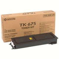 KYOCERA toner: TK-675 - Zwart