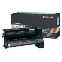 Lexmark E12 C782 X782e toner cartridge black 10k return program