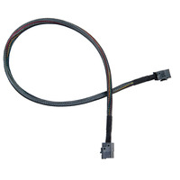 Microsemi ADAPTEC I-HDMSAS-HDMSAS-.5M Kabel - Zwart
