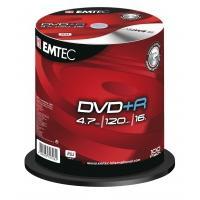 Emtec EKOVPR4710016CB (her)schrijfbare DVD's