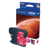 Brother inktcartridge: LC-1100HYM  Ink Cartridge - Magenta