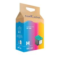 Wecare inktcartridge: Inkjetsupport voor HP C9363EE No.344 Color - Cyaan, Magenta, Geel