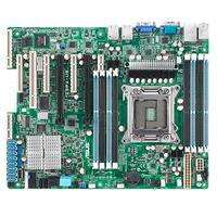 ASUS server/werkstation moederbord: 1 x Socket 2011, 8 x DDR3 RDIMM/UDIMM/LRDIMM max. 256GB, Aspeed AST2300 16MB VRAM, .....