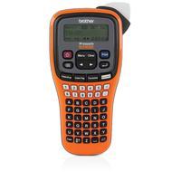 Brother labelprinter: P-touch EDGE PT-E100 - Zwart, Oranje