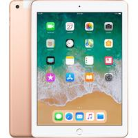 Apple tablet: iPad (2018) WiFi + Cellular 128GB - Goud (Approved Selection Standard Refurbished)
