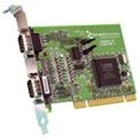 Brainboxes interfaceadapter: Universal Dual Velocity RS422/485 PCI Card (LP)