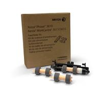 Xerox transfer roll: Papierdoorvoerroller-kit (lange levensduur, hoeft doorgaans niet te worden vervangen) - Zwart