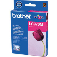 Brother inktcartridge: LC-970MBP Blister Pack - Magenta
