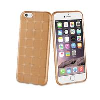 Muvit mobile phone case: Tpu case, Apple iPhone 6/6s, 40g, shockproof, brown - Bruin