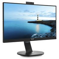 Bekijk de Philips monitoren met ingebouwde webcam