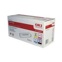 OKI cartridge: Toner Rainbow kit - Zwart, Cyaan, Magenta, Geel