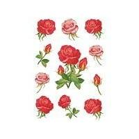 HERMA Decorative labels DECOR roses 3 sheets (3581)
