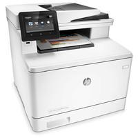 HP multifunctional: LaserJet Color Pro M477fdw MFP  - Zwart, Cyaan, Magenta, Geel