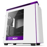 NZXT behuizing: H440 - Paars, Wit