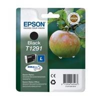 Epson inktcartridge: Singlepack Black T1291 DURABrite Ultra Ink - Zwart