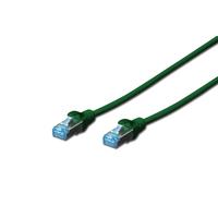 Digitus netwerkkabel: 5m Cat5e SF/UTP - Groen