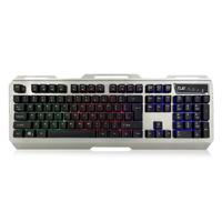 Play toetsenbord: Illuminated Gaming Keyboard () - Zwart, Zilver, QWERTZ