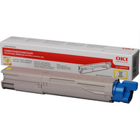 OKI toner: Yellow Toner Cartridge 2500p. for C3300n/C3400n/C3450/C3600 - Geel