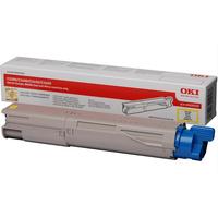 OKI cartridge: Yellow Toner Cartridge 2500p. for C3300n/C3400n/C3450/C3600 - Geel