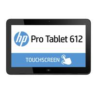 HP tablet: Pro x2 Pro x2 612 BUNDEL (L5G76EA + G8X14AA) Pro x2 612 Tablet + Travel Keyboard - Zilver