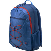 HP Active (Marine Blue/Coral Red) rugzak - Blauw, Rood