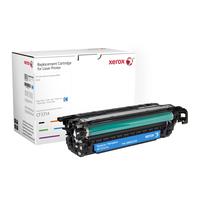 Xerox toner: Cyaan toner cartridge. Gelijk aan HP CF331A. Compatibel met HP Colour LaserJet M651