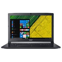 Acer laptop: Aspire A517-51G-87A7 - Zwart, QWERTY