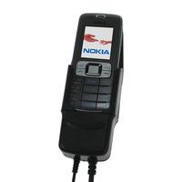 Carcomm houder: Mobile Smartphone Cradle Nokia 3109, 12/24V, Black - Zwart