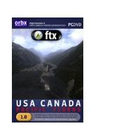 Orbx simulation systems www.fullterrain.com pc DVD-ROM FTX USA Canada - Pacific Fjords Region .....