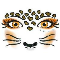HERMA Face Art Sticker Leopard sticker - Bruin