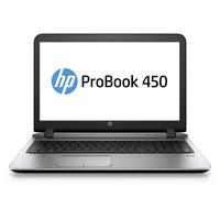 "HP laptop: ProBook 450 G3 15.6"" 128GB Windows 7 - Zilver"
