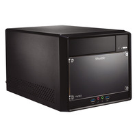 Shuttle XPC cube Mini PC SH310R4 Barebone - Zwart