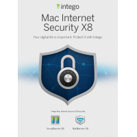Intego product: Mac Internet Security X8 - Engels / Frans / 1 Gebruiker / 2 Jaar / Mac